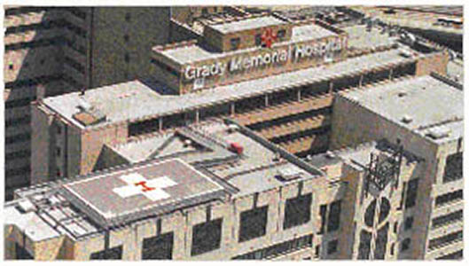 Grady Memorial Hospital Helipad