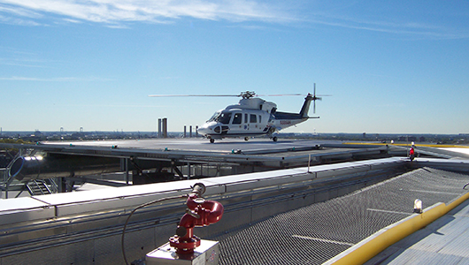 Childrens Hospital of Philadelphia Helipad
