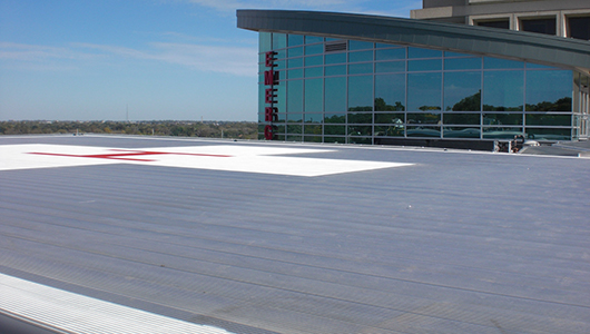 Mercy Medical Center Helipad