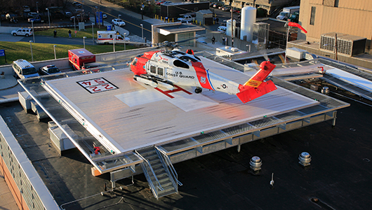 Rhode Island Hospital Rooftop Heliport